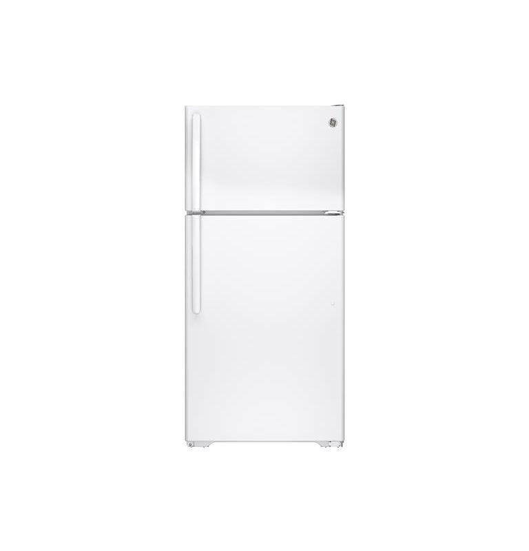 GE GTE15CTH 28 Inch 14.6 Cu. Ft. Top Freezer Refrigerator with Upfront Temperatu photo
