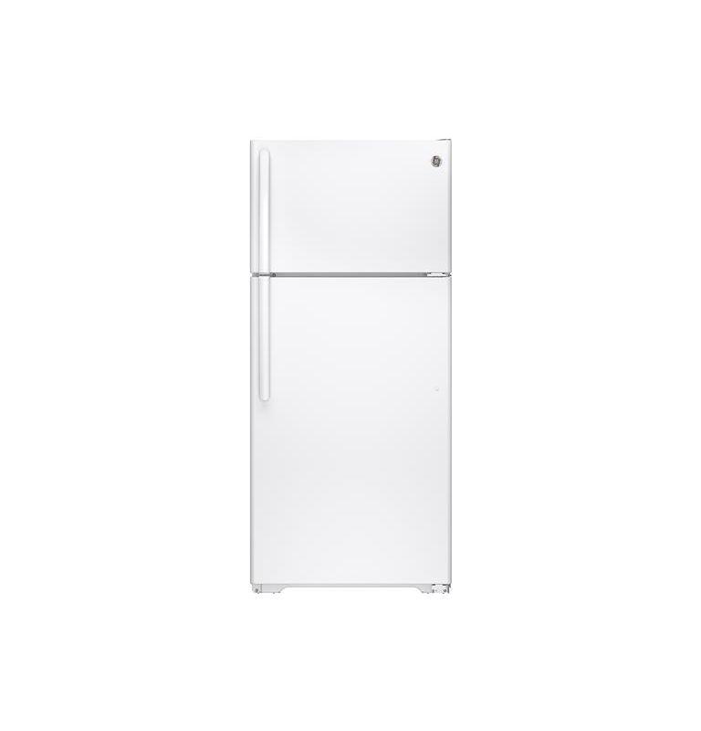 GE GTE16G 28 Inch 15.5 Cu. Ft. Top Freezer Refrigerator with Adjustable Spillpro photo