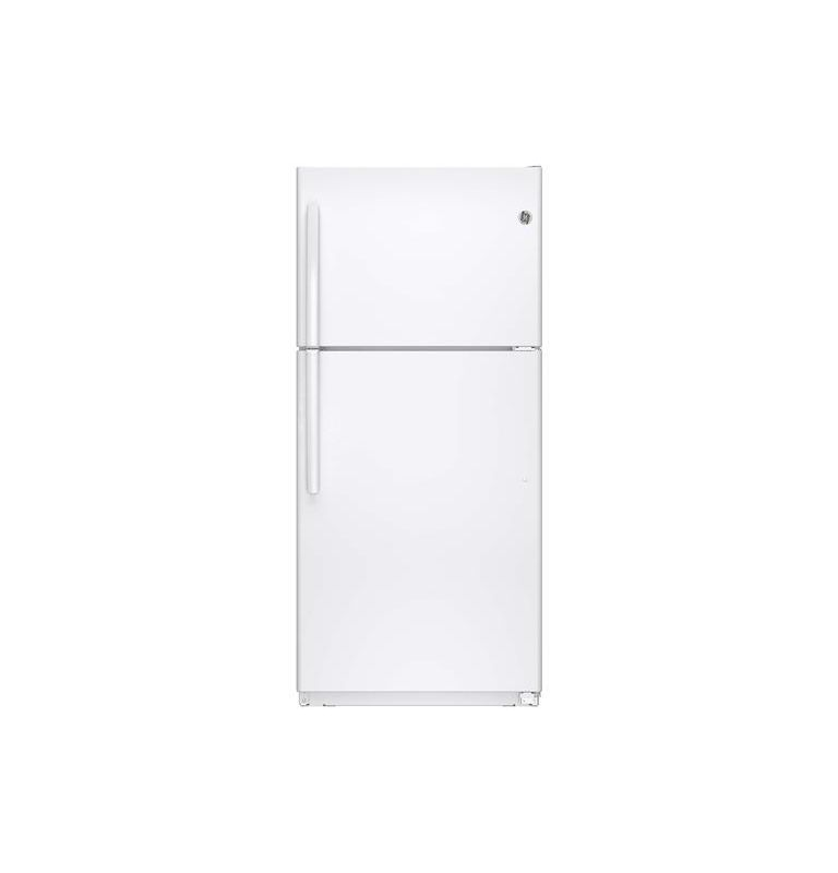 GE GTE18ETH 29-1/2 Inch 18.2 Cu. Ft. Top Freezer Refrigerator with Upfront Dual photo