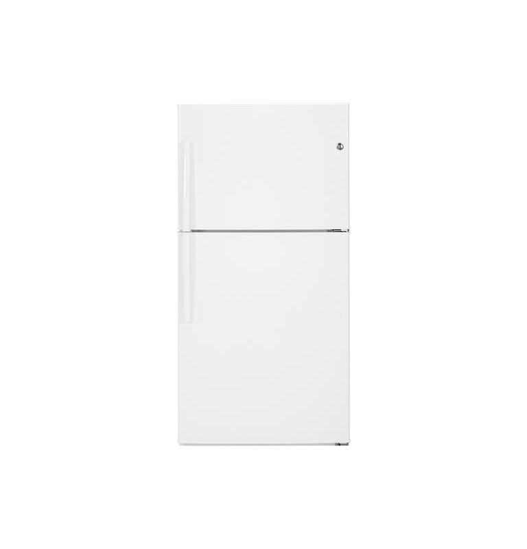 GE GTE21G 33 Inch 21.2 Cu. Ft. Top Freezer Refrigerator with Adjustable Spill Re photo