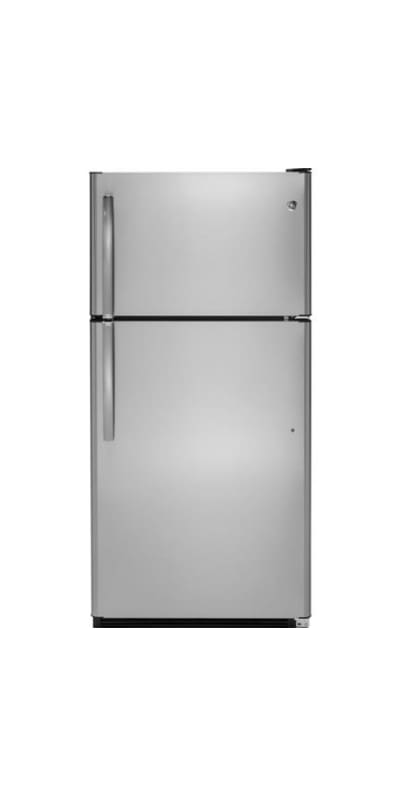 GE GTS21FK 32 Inch Wide 20.8 Cu. Ft. Top Mount Refrigerator with LED Spotlight photo
