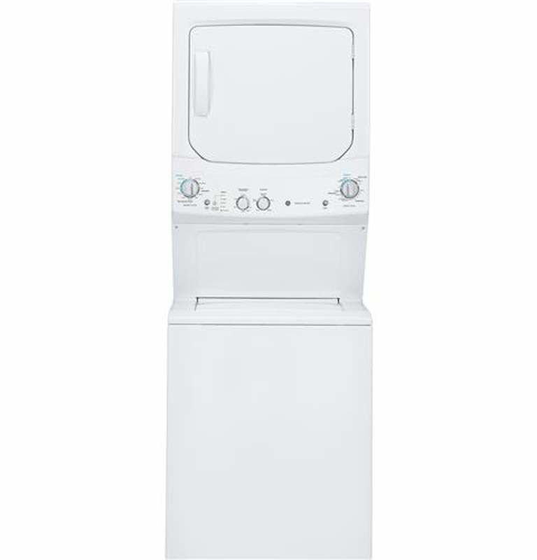 GE GUD27GSSJ 27 Inch Wide 3.2 Cu. Ft. Washer and 5.9 Cu. Ft. Gas Dryer Combo photo