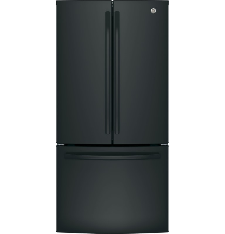 GE GWE19JL 32.75 Inch Wide 18.6 Cu. Ft. Energy Star Rated French Refrigerator wi photo