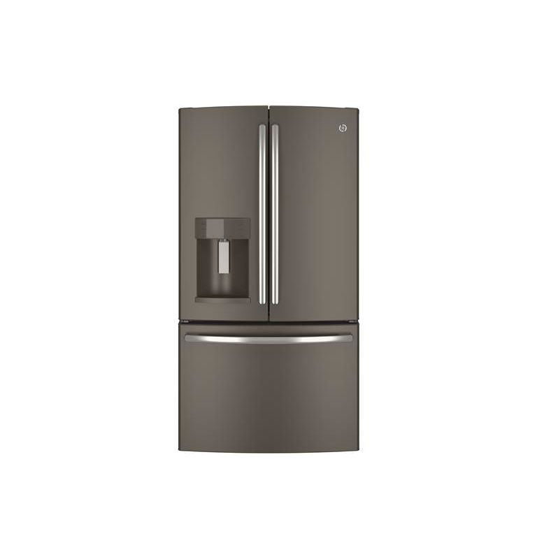 GE GYE22K 36 Inch 22.1 Cu. Ft. Counter Depth French Door Refrigerator with TwinC photo