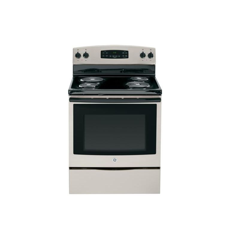 GE JB250 30 Inch 5.3 Cu. Ft. Electric Range with Coil Elements photo