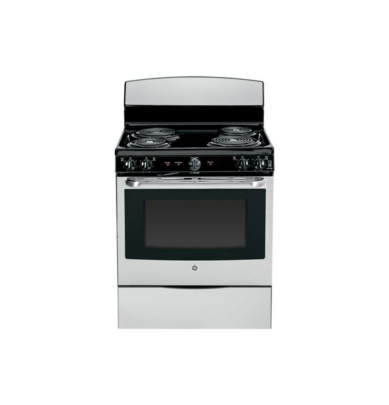 GE JB450 30 Inch 5.0 Cu. Ft. Electric Range with Dual Element Bake photo