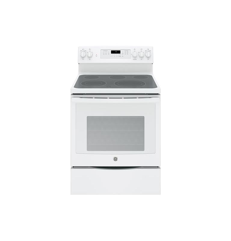 GE JB750 30 Inch Wide 5.3 Cu. Ft. Free Standing Electric Range with 12