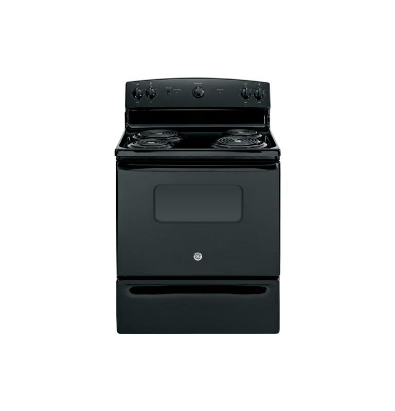 GE JBS10 30 Inch 5.0 Cu. Ft. Electric Range with Dual Element Bake photo
