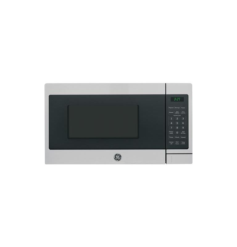GE JEM3072 17 Inch Wide 0.7 Cu. Ft. Countertop Microwave with Auto Defrost photo