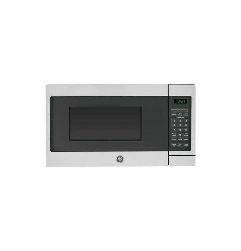 GE JES1072 17 Inch Wide 0.7 Cu. Ft. Countertop Microwave with Auto Defrost photo