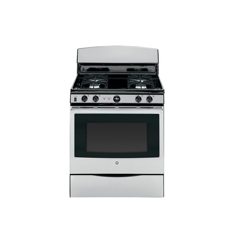 GE JGB450 30 Inch 4.8 Cu. Ft. Gas Range with Sealed Cooktop Burners photo
