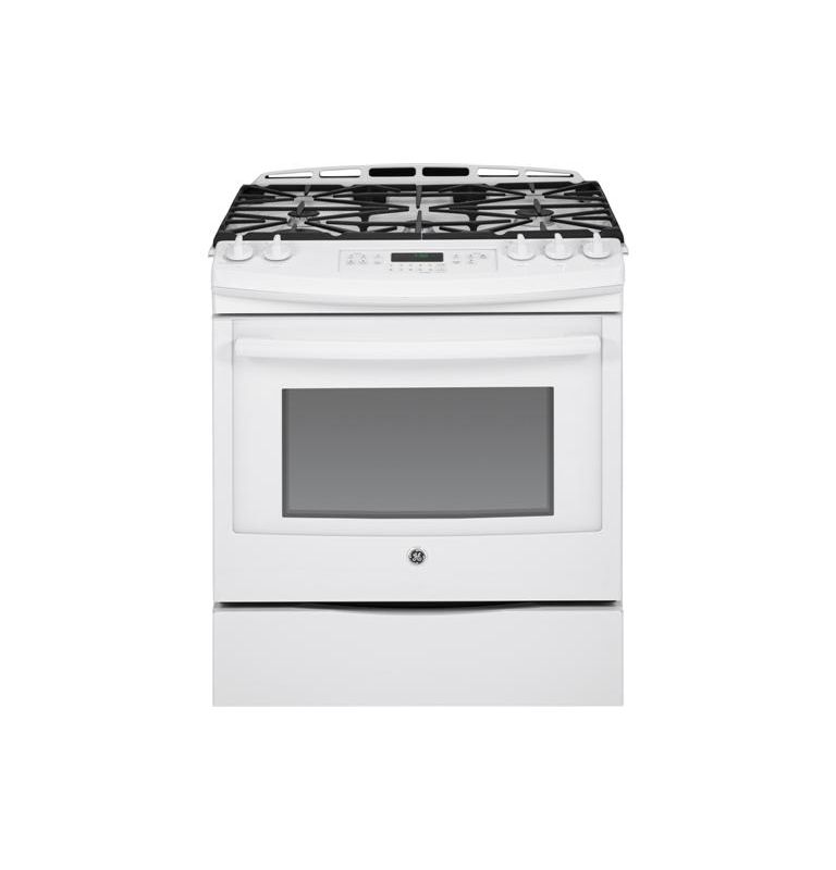 GE JGS750 30 Inch 5.6 Cu. Ft. Slide-In Gas Range with 17,000 BTU Power Boil Burn photo