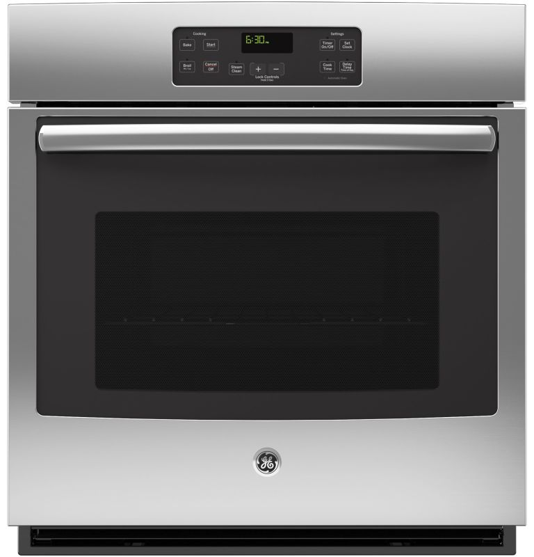 GE JK1000 4.3 Cu. Ft. Built-In Single Electric Oven with Steam Clean and Digital photo