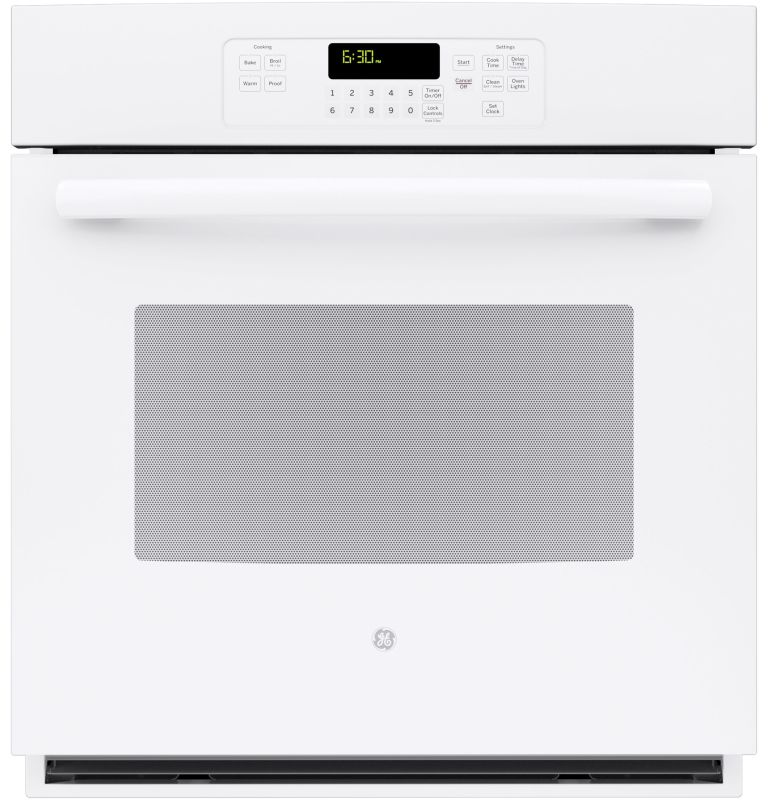 GE JK3000 4.3 Cu. Ft. Built-In Single Electric Oven with Self-Clean and Digital photo