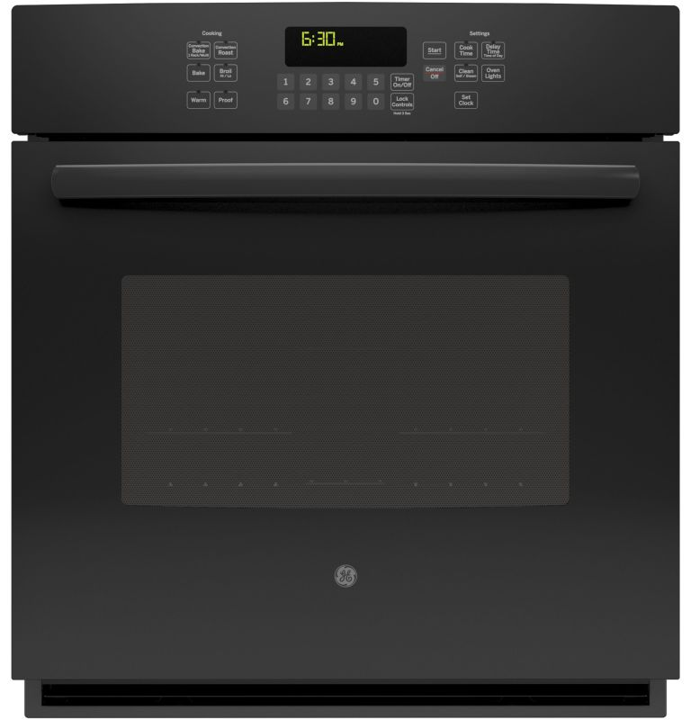 GE JK5000 4.3 Cu. Ft. Built-In Single Electric Oven with Self-Clean and Convecti photo