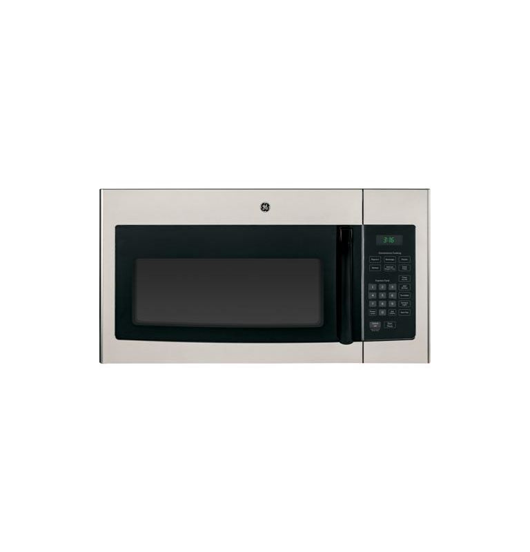 GE JNM3161 300 CFM, 30 Inch 1.6 Cu. Ft. Over the Range Microwave with Recirculat photo