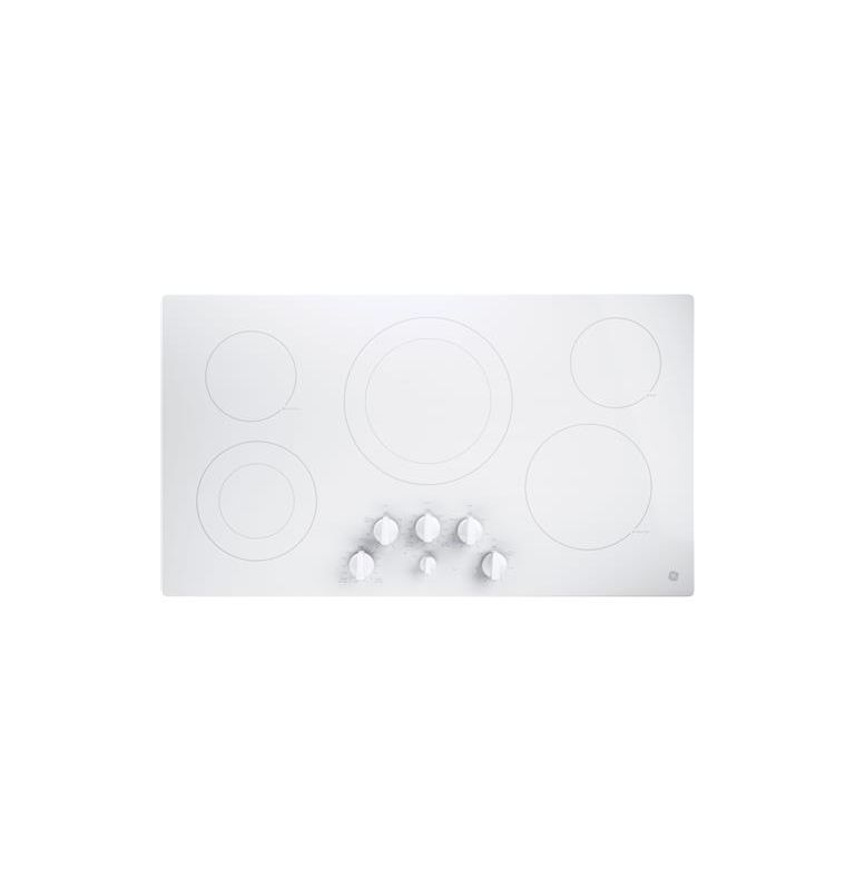 GE JP3536 36 Inch Wide Built-In Electric Cooktop with Keep Warm Setting photo