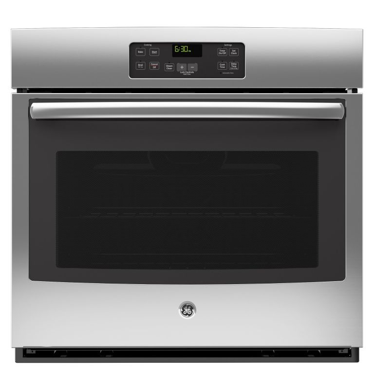 GE JT1000 5.0 Cu. Ft. Built-In Single Electric Oven with Steam Clean and Digital photo