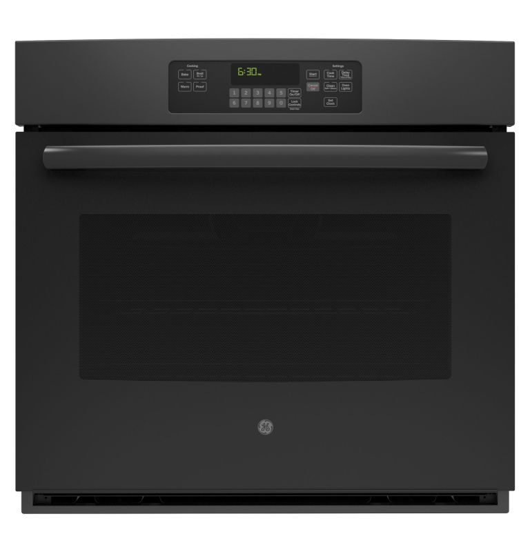 GE JT3000 5.0 Cu. Ft. Built-In Single Electric Oven with Self-Clean and Digital photo