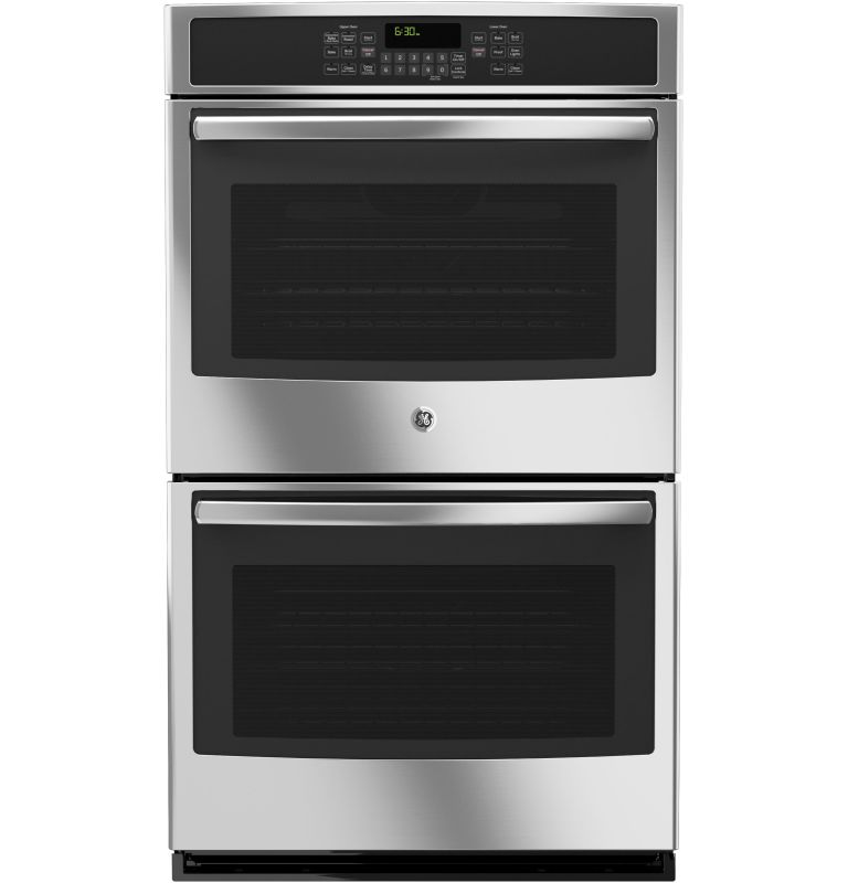 GE JT5500 30 Inch Wide 10 Cu. Ft. Electric Double Wall Oven with Convection Heat photo