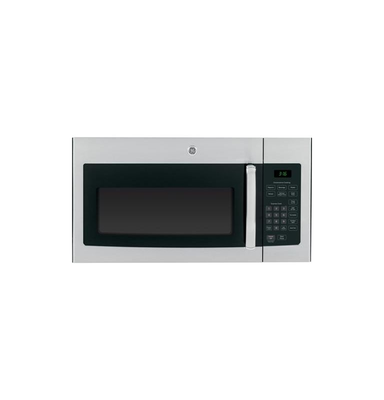 GE JVM3160 300 CFM, 30 Inch 1.6 Cu. Ft. Over the Range Microwave with Recirculat photo