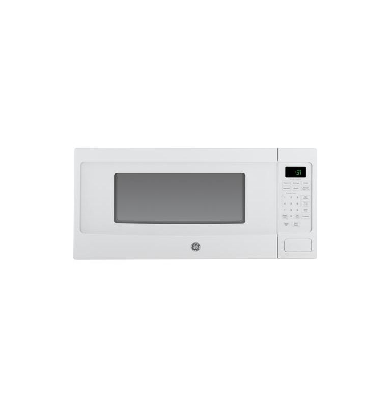 GE PEM31 24 Inch Wide 1.1 Cu. Ft. Countertop Microwave Oven with Sensor Cooking photo