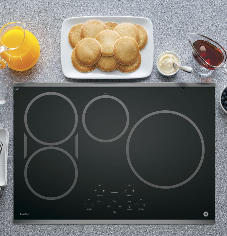 GE PHP9030 30 Inch Wide Built-In Induction Cooktop with SyncBurner Control photo