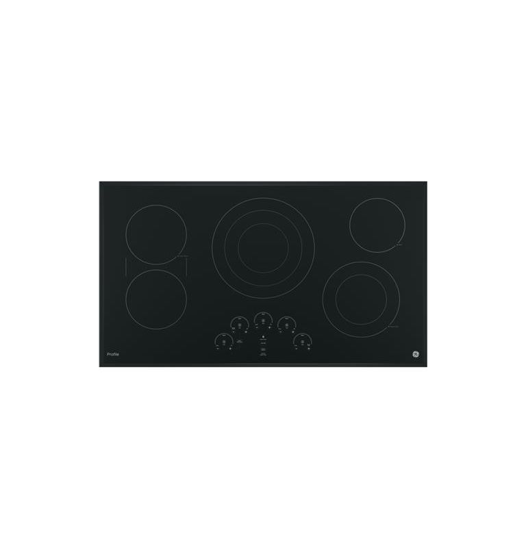 GE PP9036 36 Inch Wide Built-In Electric Cooktop with Power Boil Element photo