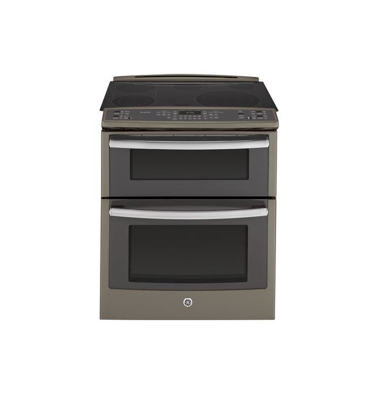 GE PS950 31 Inch Wide 6.6 Cu. Ft. Free Standing Electric Range with True Europea photo