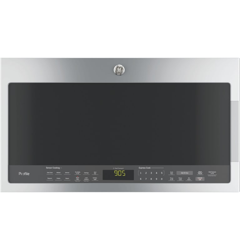 GE PVM9005J Profile 30 Inch Wide 2.1 Cu. Ft. Over the Range Microwave with Four- photo