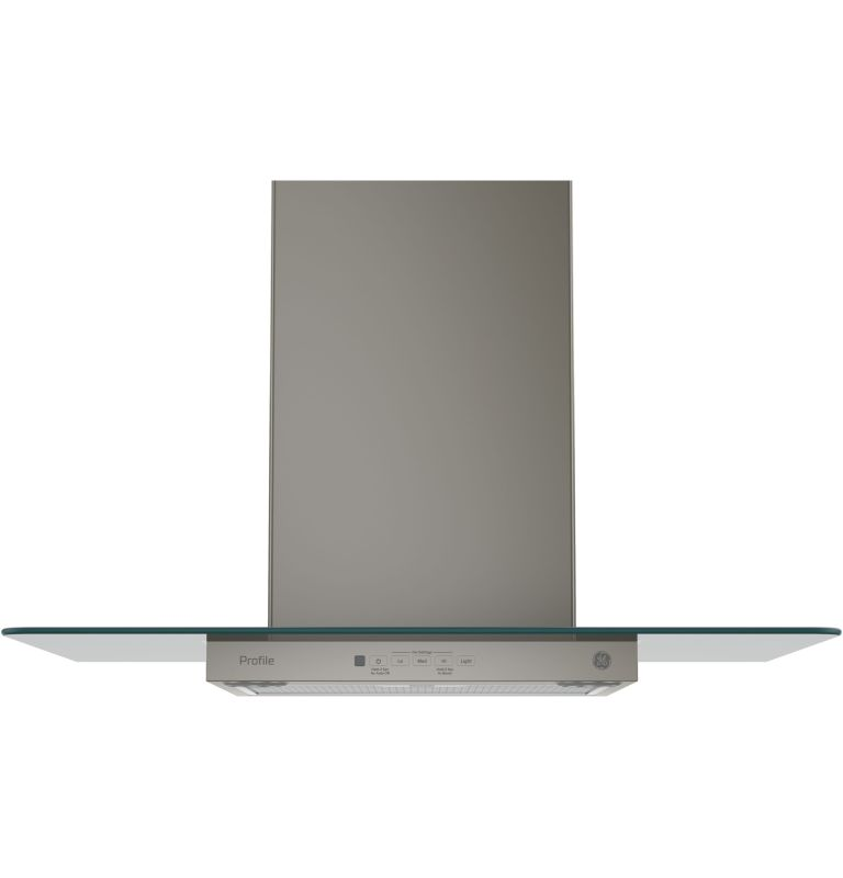 GE PVW7301 350 CFM 30 Inch Wide Wall Mounted Range Hood with Glass Canopy and Du photo