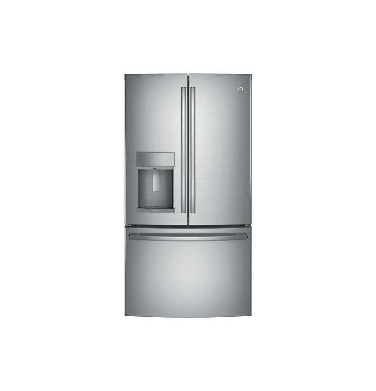 GE PYE22K 36 Inch Wide 22.2 Cu. Ft. Energy Star Rated Counter Depth French Door photo