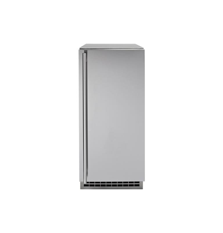 GE UCC15NJII 15 Inch Wide Automatic Ice Maker with Interior LED Lighting photo