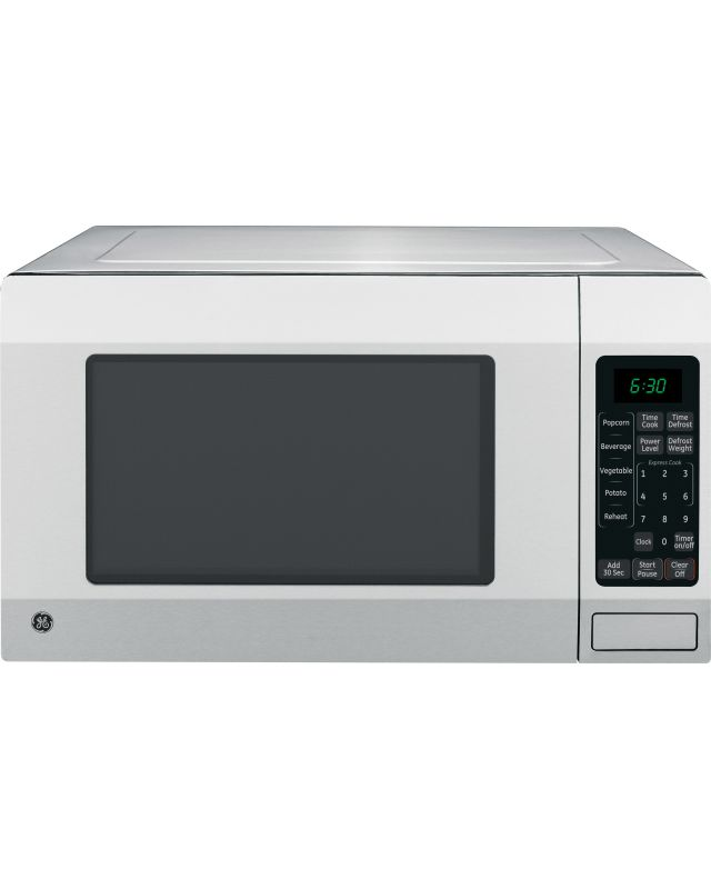 GE JES1656SR 1.6 Cubic Foot Countertop Microwave Oven with Turntable photo