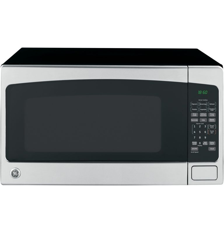 Countertop Microwave With Turntable : GE JES2051 2 Cubic Foot Countertop Microwave Oven with Turntable