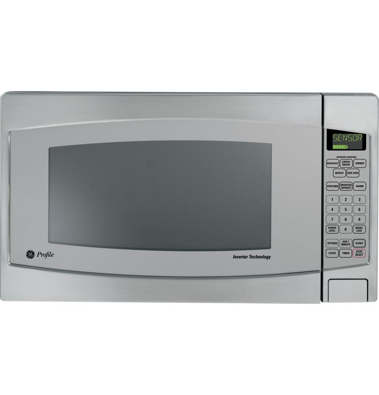 GE JES2251S Profile 2.2. Cubic Foot Countertop Microwave Oven with Inverter Tech photo