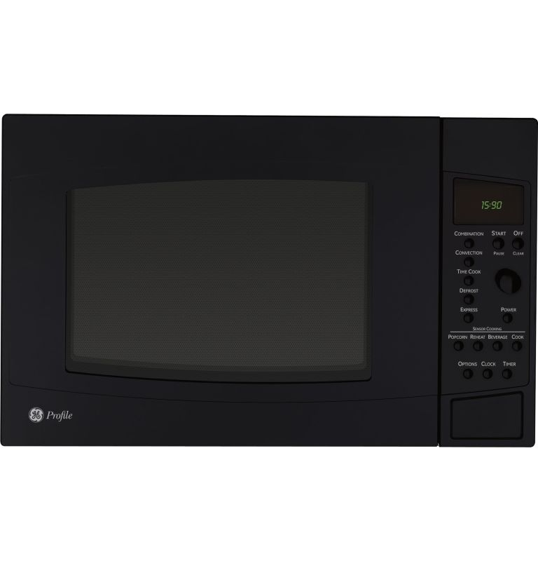 GE PEB1590DM 1.5 Cubic Foot Profile Countertop Microwave Convection Oven with Se