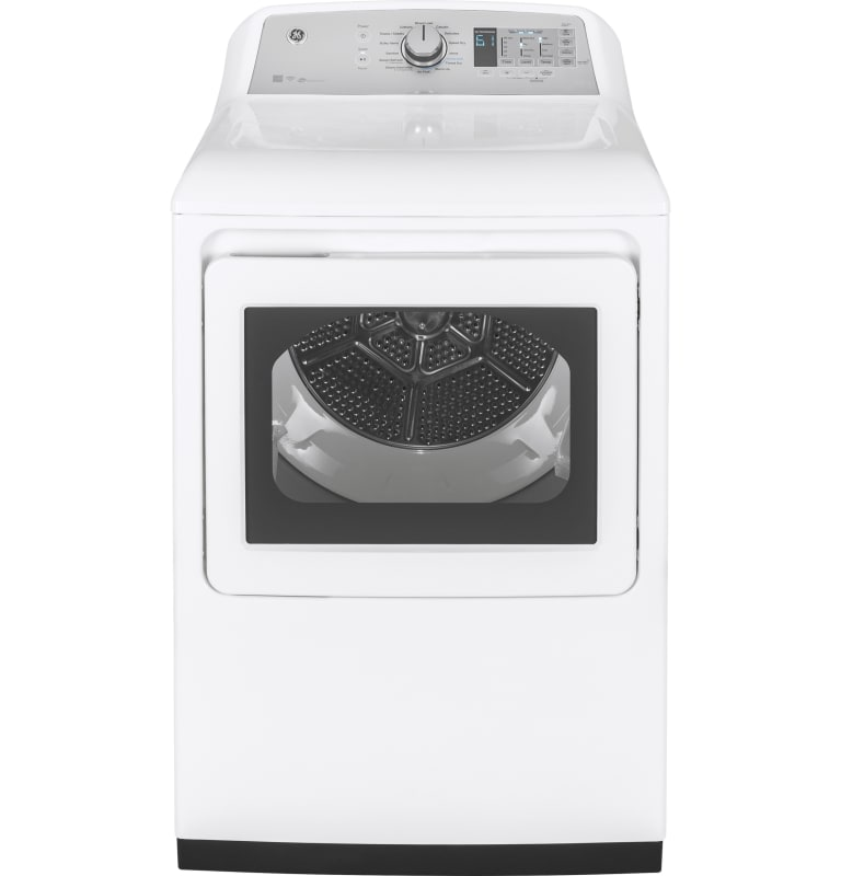 GE GTD75ECL 27 Inch Wide 7.4 Cu. Ft. Energy Star Rated Electric Dryer with Senso photo