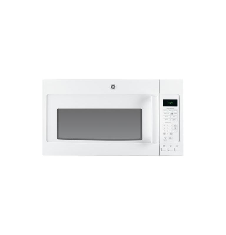 GE JNM7196 1.9 Cu. Ft. Over-the-Range Sensor Microwave with Recirculating Venting photo