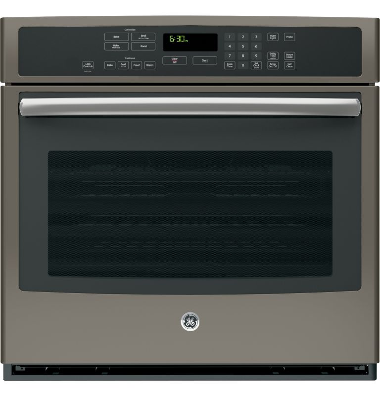 GE PT7050 30 Inch Wide 5 Cu. Ft. Single Electric Oven with True European Convect photo