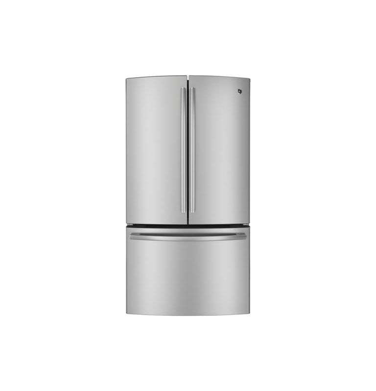 GE PWE23K 36 Inch Wide 23.1 Cu. Ft. Counter-Depth French Door Refrigerator with photo