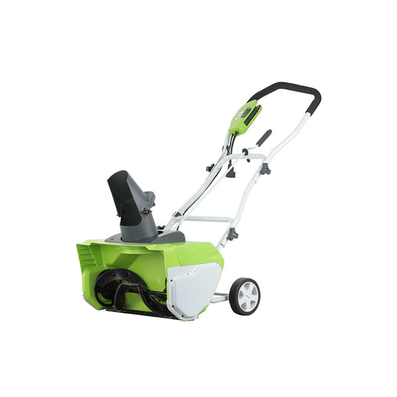 GreenWorks 26032 Electric Powered 12 Amp Single Stage Snow Blower with 20 Clear