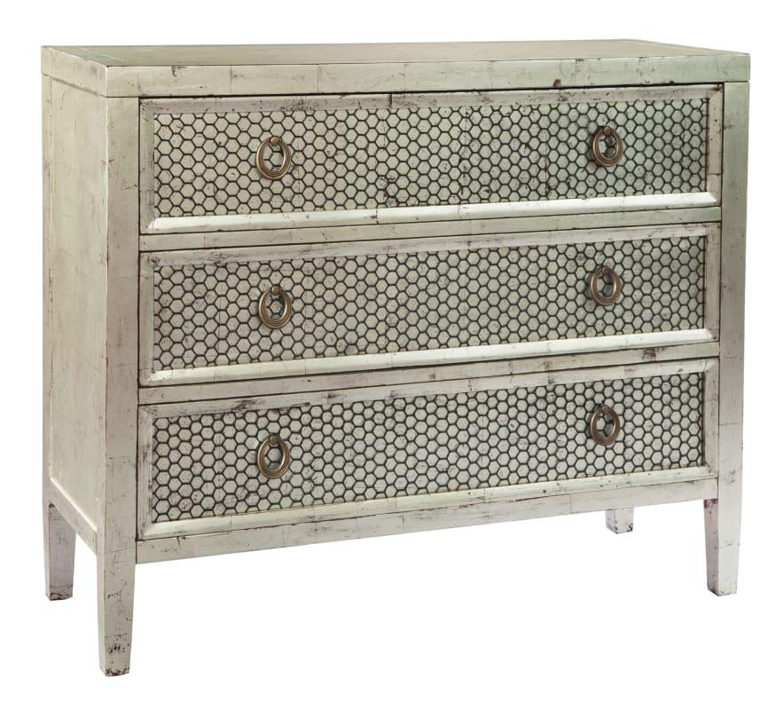 Hekman 27513 46 Inch Wide Wood Dresser with Three Drawers