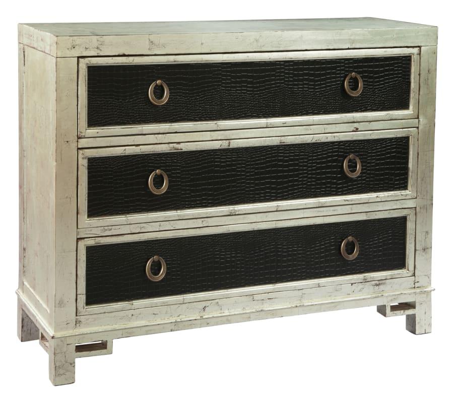 Hekman 27517 48 Inch Wide Wood Dresser with Three Drawers