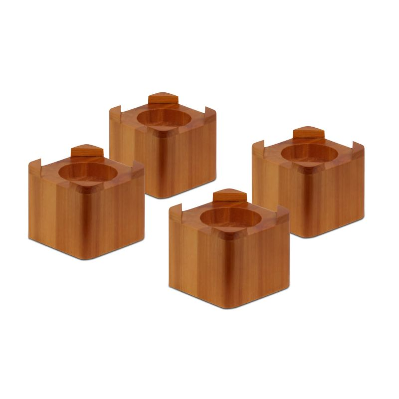 Bed risers usa for Furniture risers
