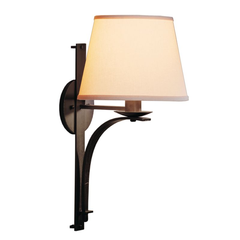 hubbardton forge 204507 1 light direct wire wall sconce from the