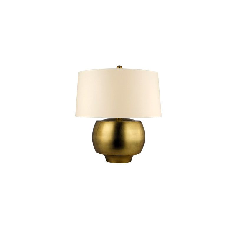 Hudson Valley Lighting L164 Holden 1 Light Table Lamp Aged Brass Lamps -  L164-AGB