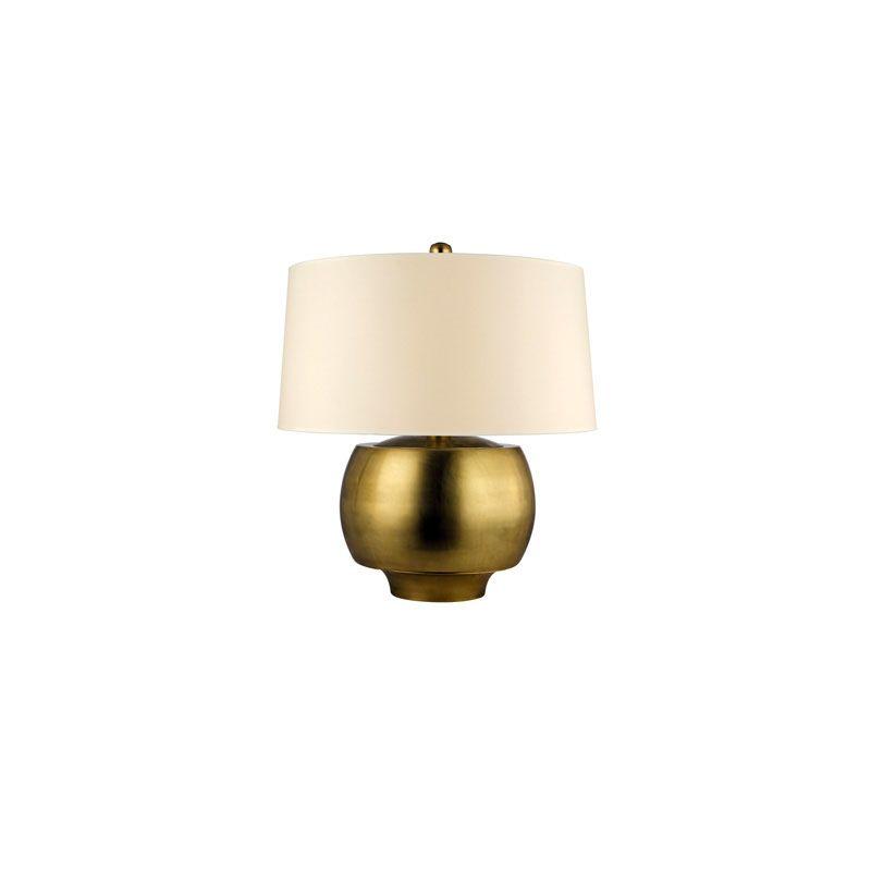 Hudson Valley Lighting L164 Holden 1 Light Table Lamp -  L164-AGB-WS