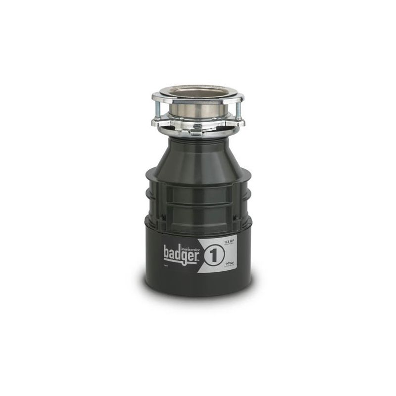 InSinkErator Badger 1 Badger 1/3 HP Garbage Disposal with Soundseal Technology photo