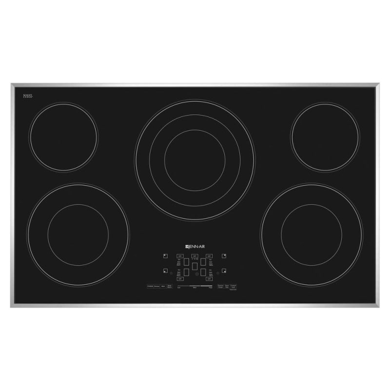 Jenn-Air JEC4536B 36 Inch Wide Built-In Electric Radiant Cooktop with Melt Funct photo